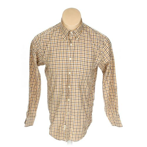 Lands' End Button-down Long Sleeve Shirt in size M at up to 95% Off - Swap.com