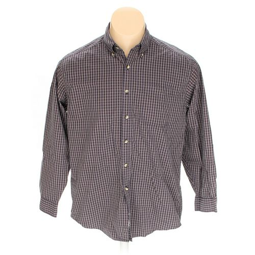 L.L.Bean Button-down Long Sleeve Shirt in size L at up to 95% Off - Swap.com