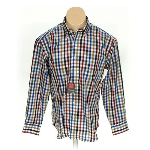 Miller Performance Button-down Long Sleeve Shirt in size M at up to 95% Off - Swap.com