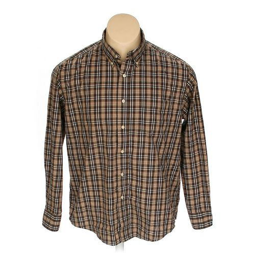 Puritan Button-down Long Sleeve Shirt in size L at up to 95% Off - Swap.com