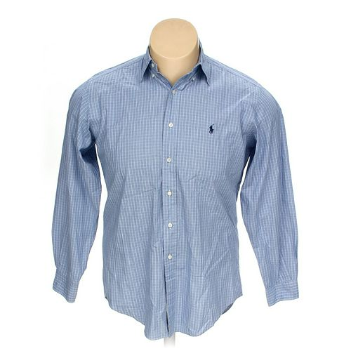 """Ralph Lauren Button-down Long Sleeve Shirt in size 54"""" Chest at up to 95% Off - Swap.com"""