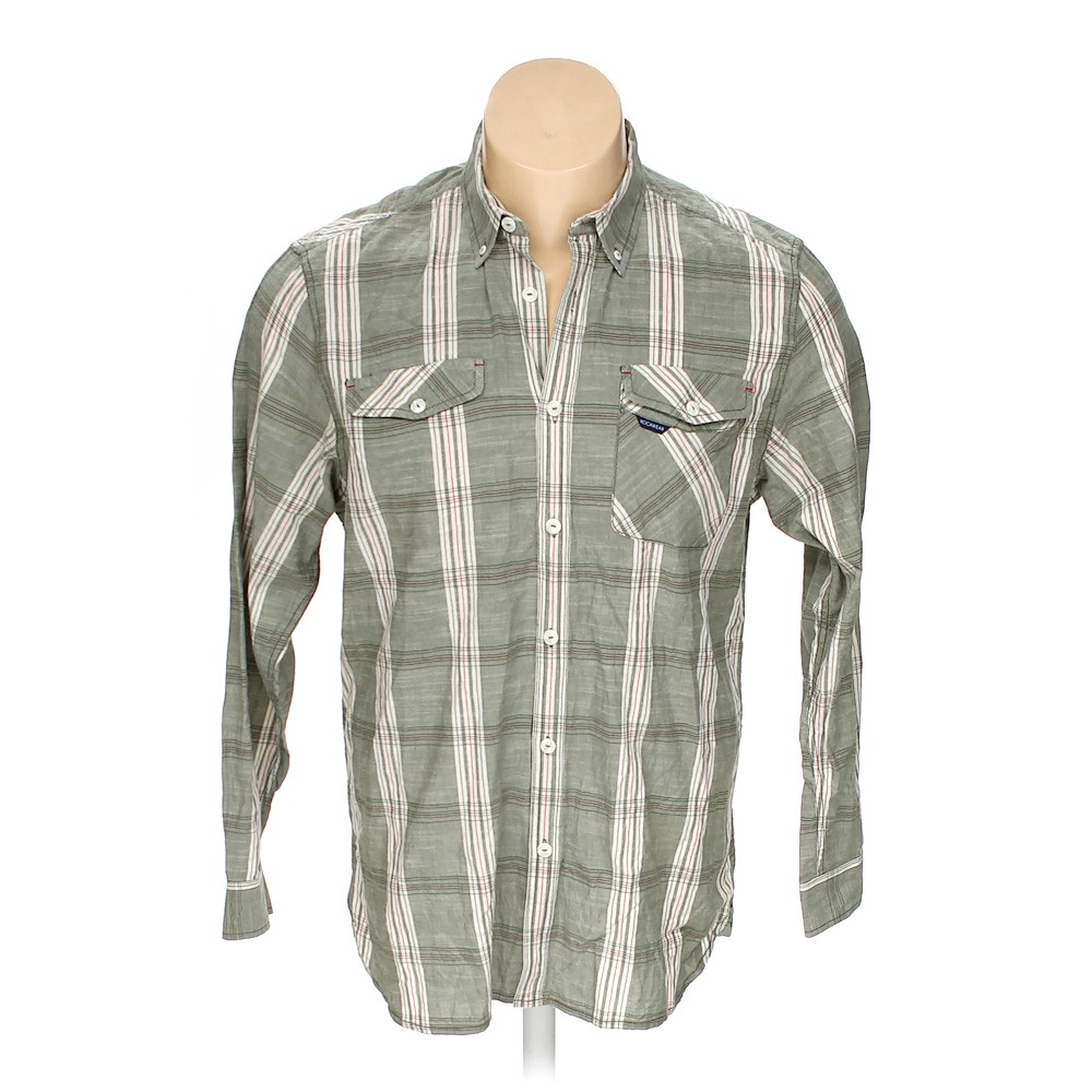f6960aed Rocawear Button-down Long Sleeve Shirt in size XXL at up to 95% Off