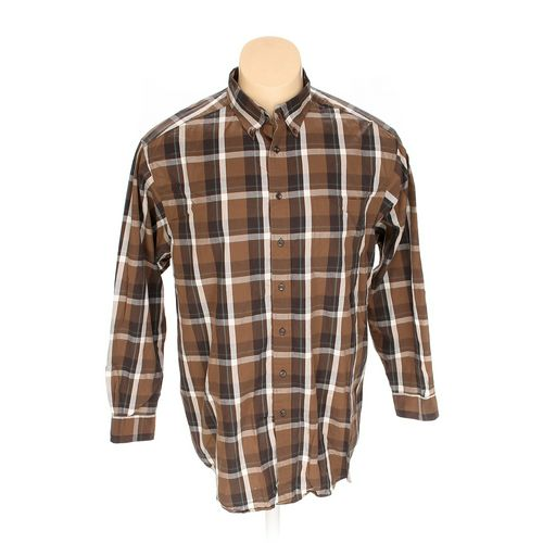 Roundtree & Yorke Button-down Long Sleeve Shirt in size 3XL at up to 95% Off - Swap.com