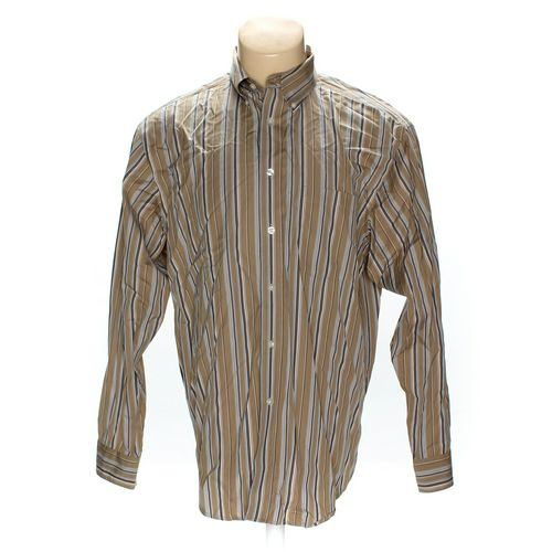 Roundtree & Yorke Button-down Long Sleeve Shirt in size L at up to 95% Off - Swap.com