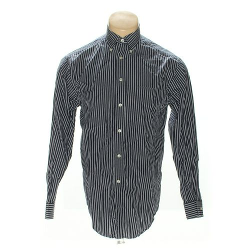 Roundtree & Yorke Button-down Long Sleeve Shirt in size M at up to 95% Off - Swap.com
