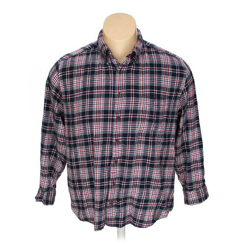 SADDLEBRED Button-down Long Sleeve Shirt in size 2XL at up to 95% Off - Swap.com
