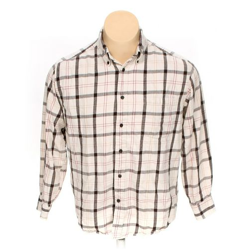 St. John's Bay Button-down Long Sleeve Shirt in size L at up to 95% Off - Swap.com