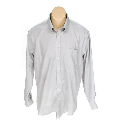 "Stafford Button-down Long Sleeve Shirt in size 36"" Chest at up to 95% Off - Swap.com"