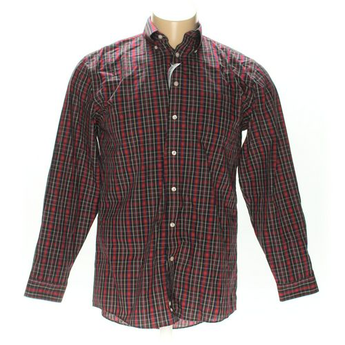 "Stafford Button-down Long Sleeve Shirt in size 46"" Chest at up to 95% Off - Swap.com"