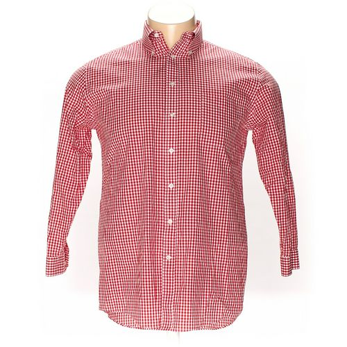 """Stafford Button-down Long Sleeve Shirt in size 48"""" Chest at up to 95% Off - Swap.com"""