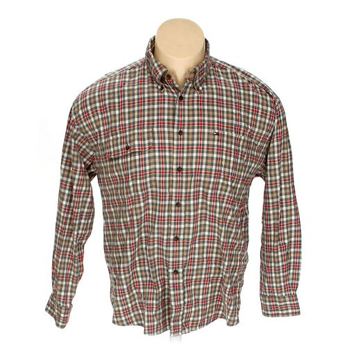 Tommy Hilfiger Button-down Long Sleeve Shirt in size XXL at up to 95% Off - Swap.com