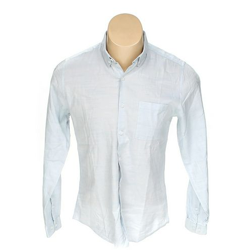 Topman Button-down Long Sleeve Shirt in size M at up to 95% Off - Swap.com