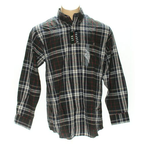 Trader Bay Button-down Long Sleeve Shirt in size L at up to 95% Off - Swap.com