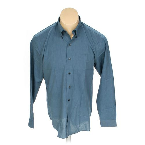 Van Heusen Button-down Long Sleeve Shirt in size M at up to 95% Off - Swap.com