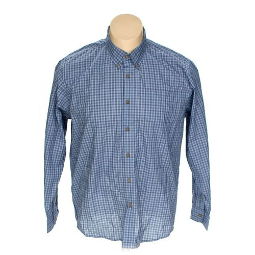 """Wrangler Button-down Long Sleeve Shirt in size 32"""" Chest at up to 95% Off - Swap.com"""