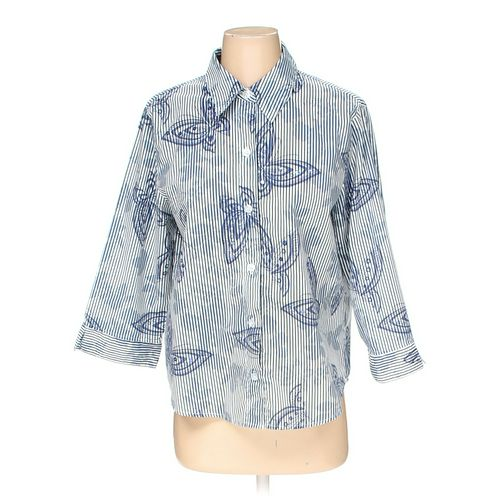 Alfred Dunner Button-down Shirt in size S at up to 95% Off - Swap.com