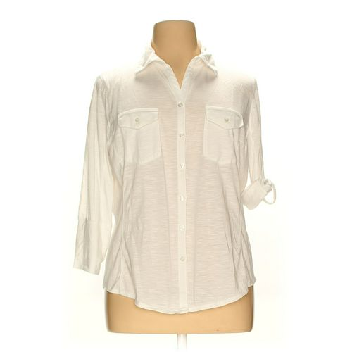Almost Famous Button-down Shirt in size 3X at up to 95% Off - Swap.com