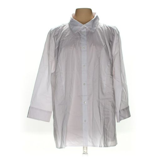 Basic Editions Button-down Shirt in size 2X at up to 95% Off - Swap.com