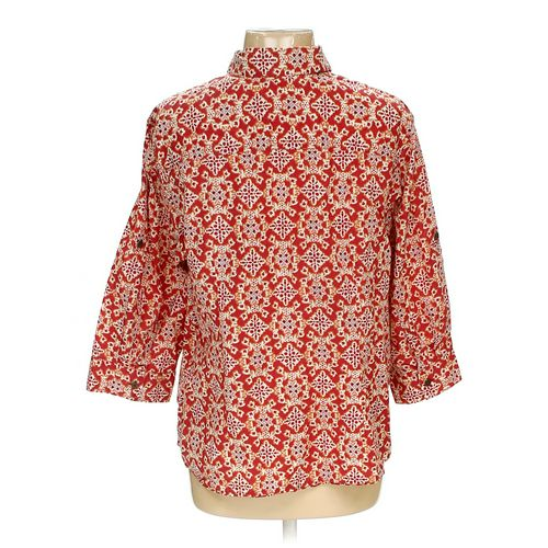 Charter Club Woman Button-down Shirt in size 16 at up to 95% Off - Swap.com