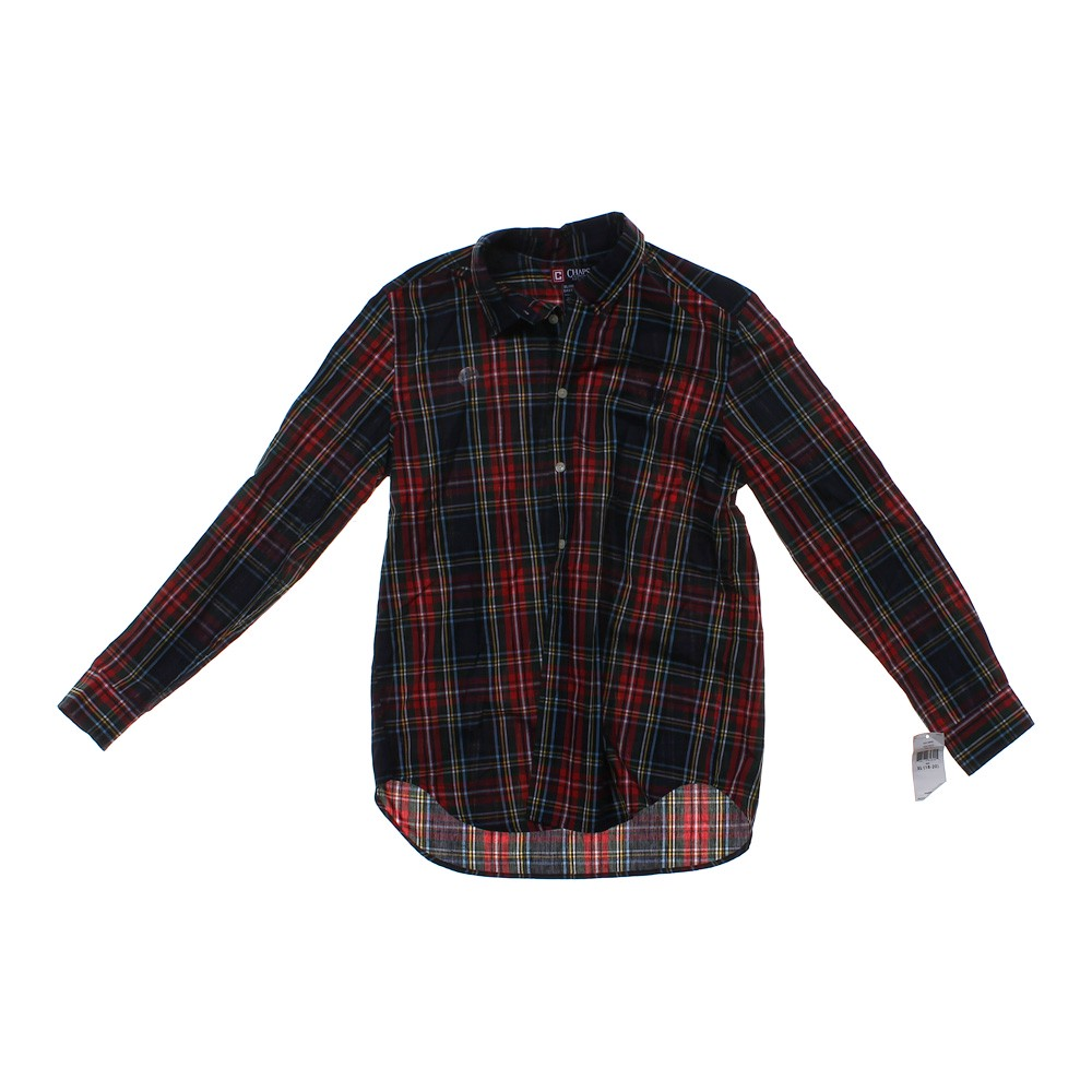 Chaps button down shirt online consignment for Chaps button down shirts