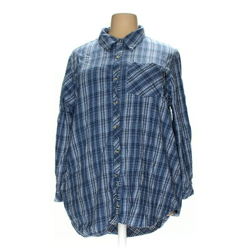 MIXIT Button-down Shirt in size 3X at up to 95% Off - Swap.com