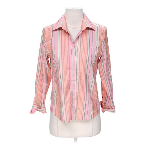 Talbots Button-down Shirt in size 2 at up to 95% Off - Swap.com