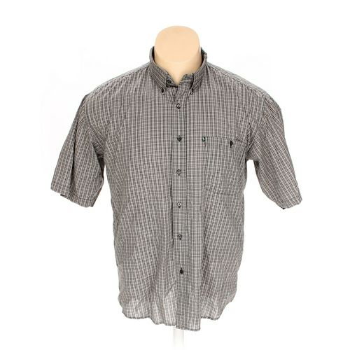 "Bert Pulitzer Button-down Short Sleeve Shirt in size 54"" Chest at up to 95% Off - Swap.com"