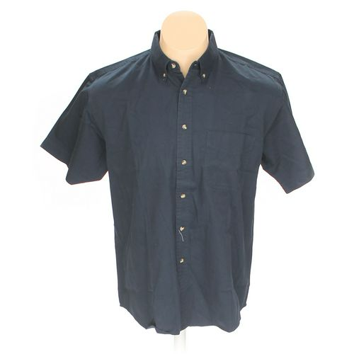 Blue Generation Button-down Short Sleeve Shirt in size L at up to 95% Off - Swap.com