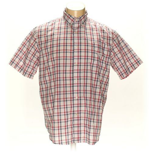 Chaps Button-down Short Sleeve Shirt in size XXL at up to 95% Off - Swap.com