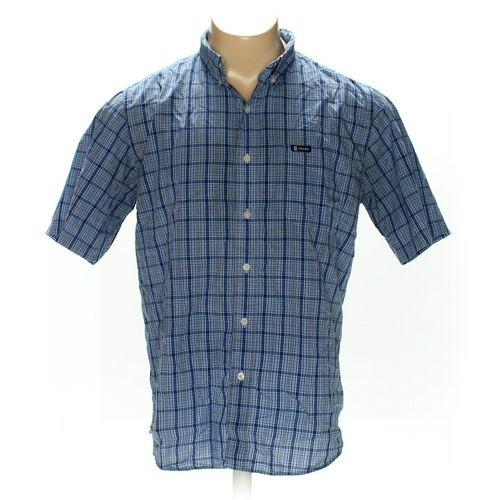 Chaps Button-down Short Sleeve Shirt in size L at up to 95% Off - Swap.com