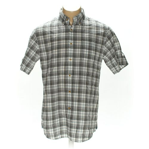 Cremieux Button-down Short Sleeve Shirt in size L at up to 95% Off - Swap.com