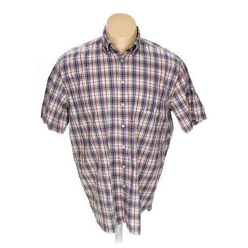 Cremieux Button-down Short Sleeve Shirt in size XL at up to 95% Off - Swap.com