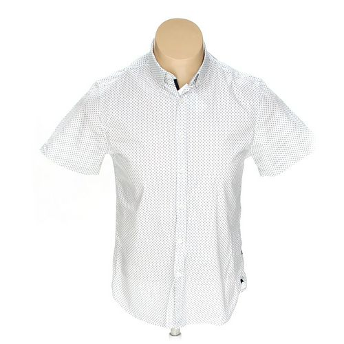 Denim & Flower Button-down Short Sleeve Shirt in size L at up to 95% Off - Swap.com