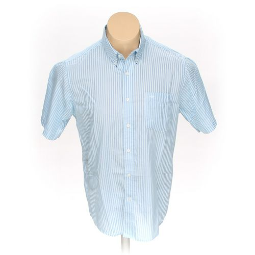 Dockers Button-down Short Sleeve Shirt in size L at up to 95% Off - Swap.com