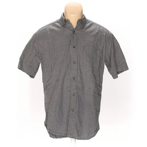 Dockers Button-down Short Sleeve Shirt in size M at up to 95% Off - Swap.com