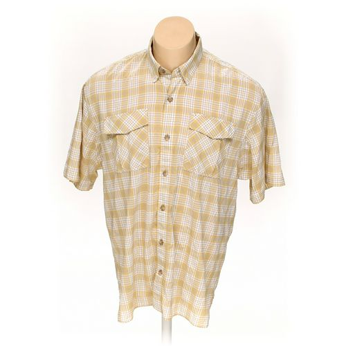 Duluth Trading Co Button-down Short Sleeve Shirt in size XL at up to 95% Off - Swap.com