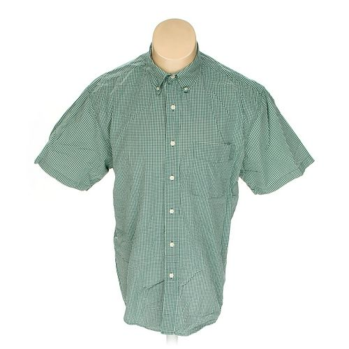 Eddie Bauer Button-down Short Sleeve Shirt in size M at up to 95% Off - Swap.com