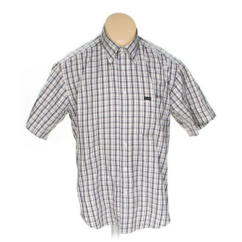 Façonnable Button-down Short Sleeve Shirt in size L at up to 95% Off - Swap.com
