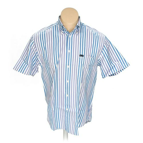 Façonnable Button-down Short Sleeve Shirt in size M at up to 95% Off - Swap.com