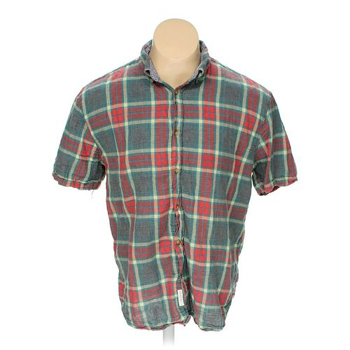 Five Four Club Button-down Short Sleeve Shirt in size 2XL at up to 95% Off - Swap.com