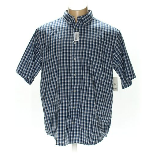 GEORGE Button-down Short Sleeve Shirt in size 2XL at up to 95% Off - Swap.com