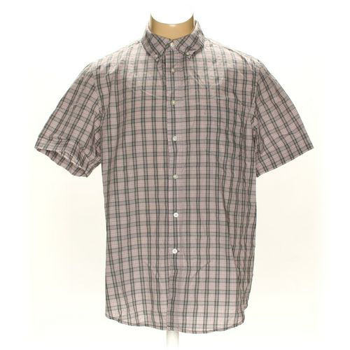 GEORGE Button-down Short Sleeve Shirt in size XL at up to 95% Off - Swap.com