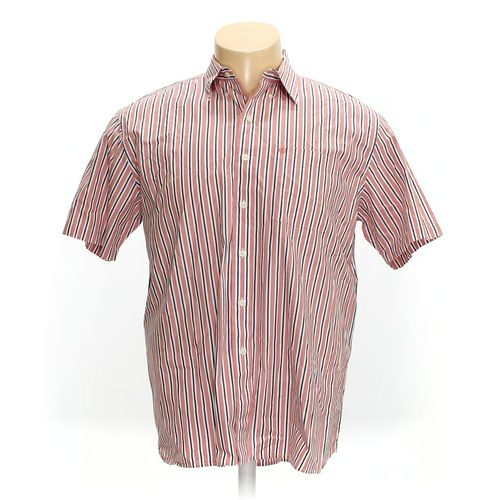 Izod Button-down Short Sleeve Shirt in size XL at up to 95% Off - Swap.com