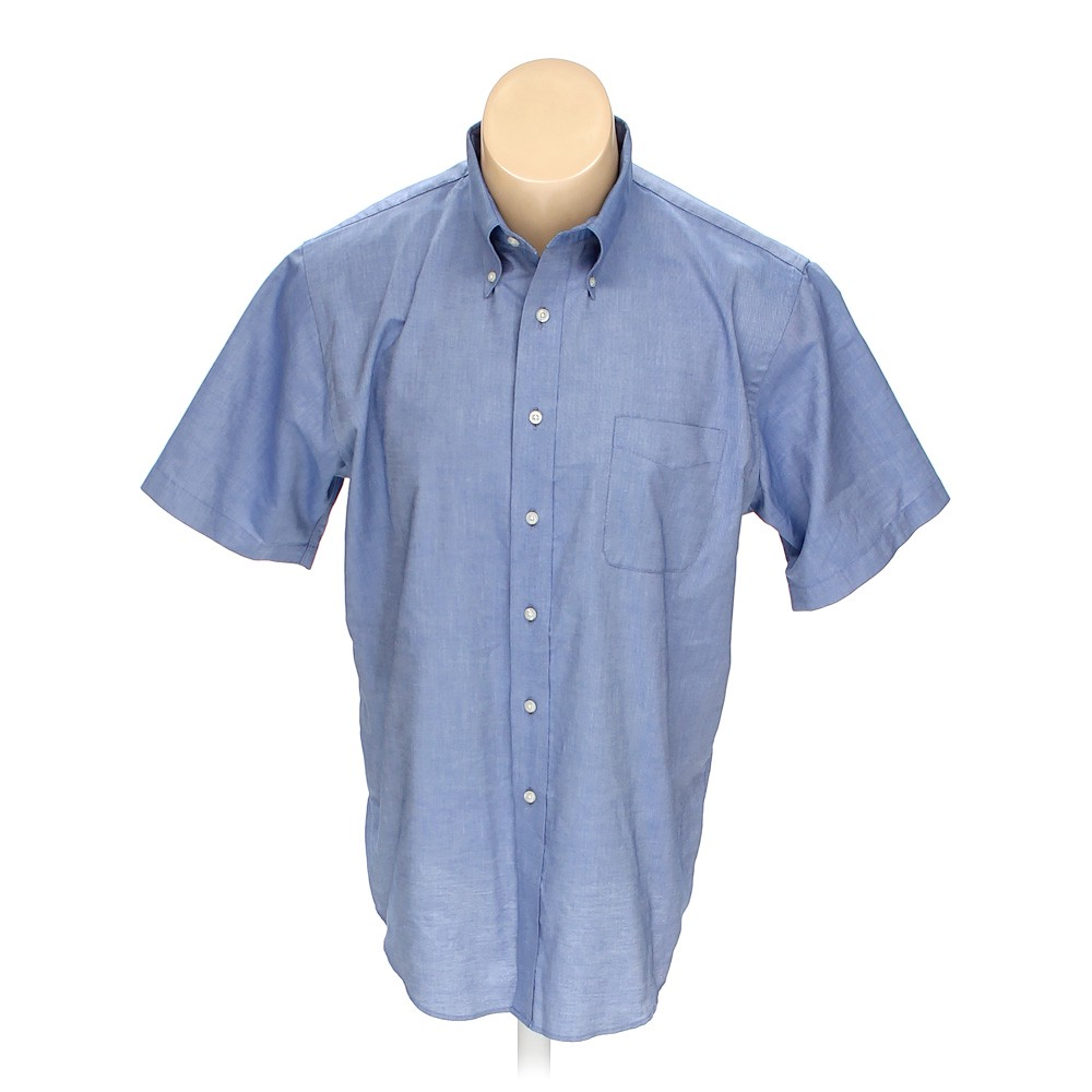 ab8c473544dc Lands  End Button-down Short Sleeve Shirt in size 48