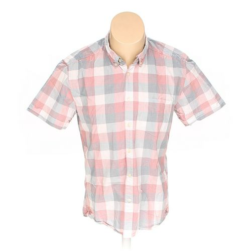 L.O.G.G. Label Of Graded Goods Button-down Short Sleeve Shirt in size M at up to 95% Off - Swap.com