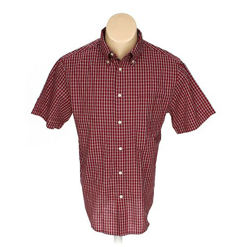 Merona Button-down Short Sleeve Shirt in size M at up to 95% Off - Swap.com