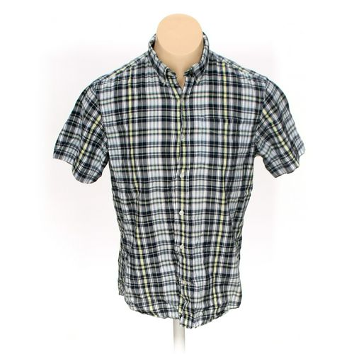 Old Navy Button-down Short Sleeve Shirt in size L at up to 95% Off - Swap.com