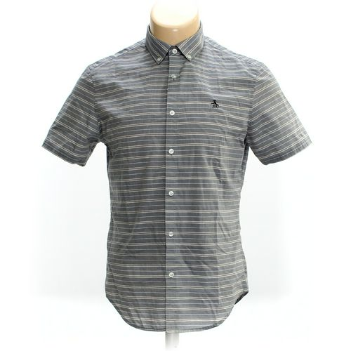 Penguin Button-down Short Sleeve Shirt in size M at up to 95% Off - Swap.com
