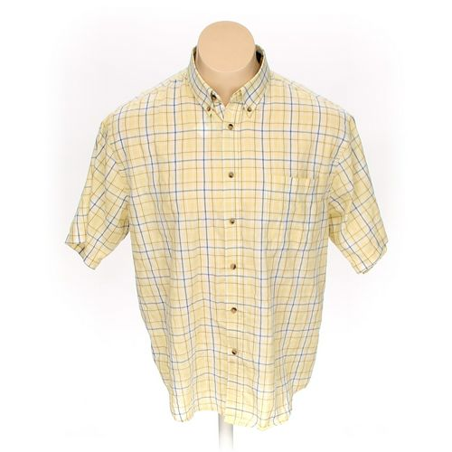 Puritan Button-down Short Sleeve Shirt in size XL at up to 95% Off - Swap.com