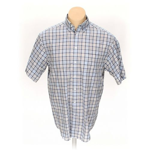 Roundtree & Yorke Button-down Short Sleeve Shirt in size XL at up to 95% Off - Swap.com